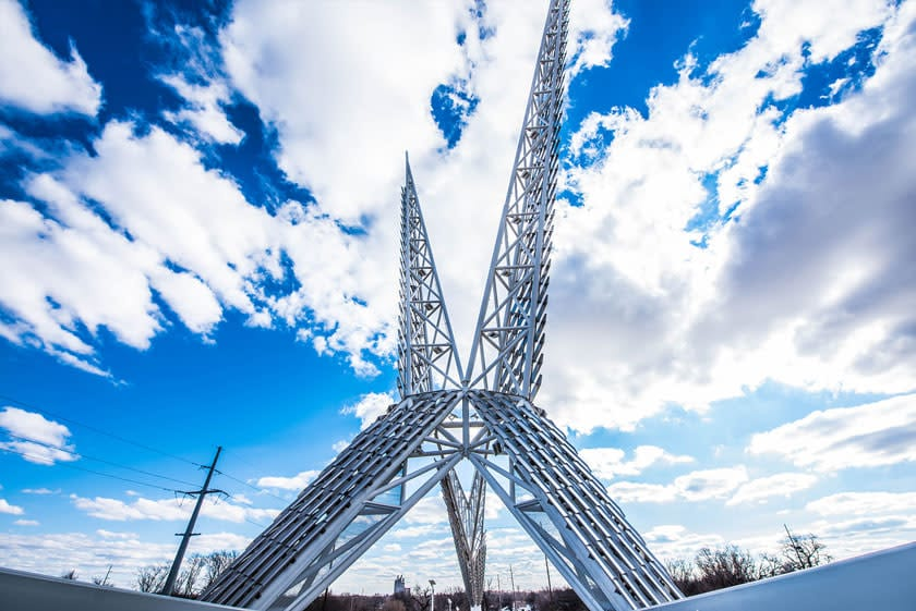 Skydance Bridge OKC