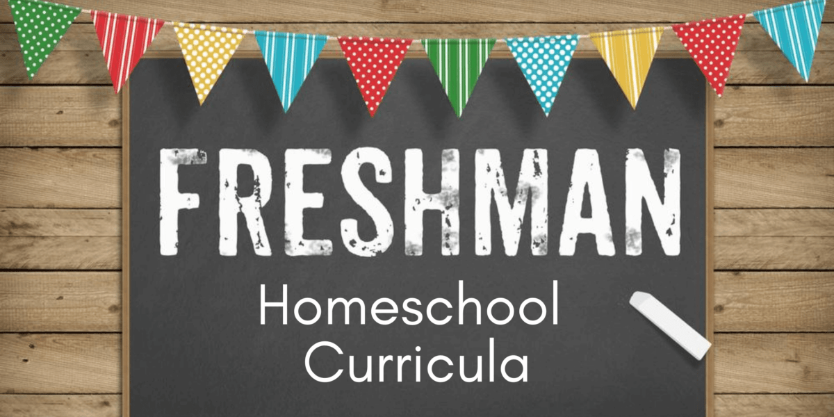 Homeschool Curricula for 9th Grade