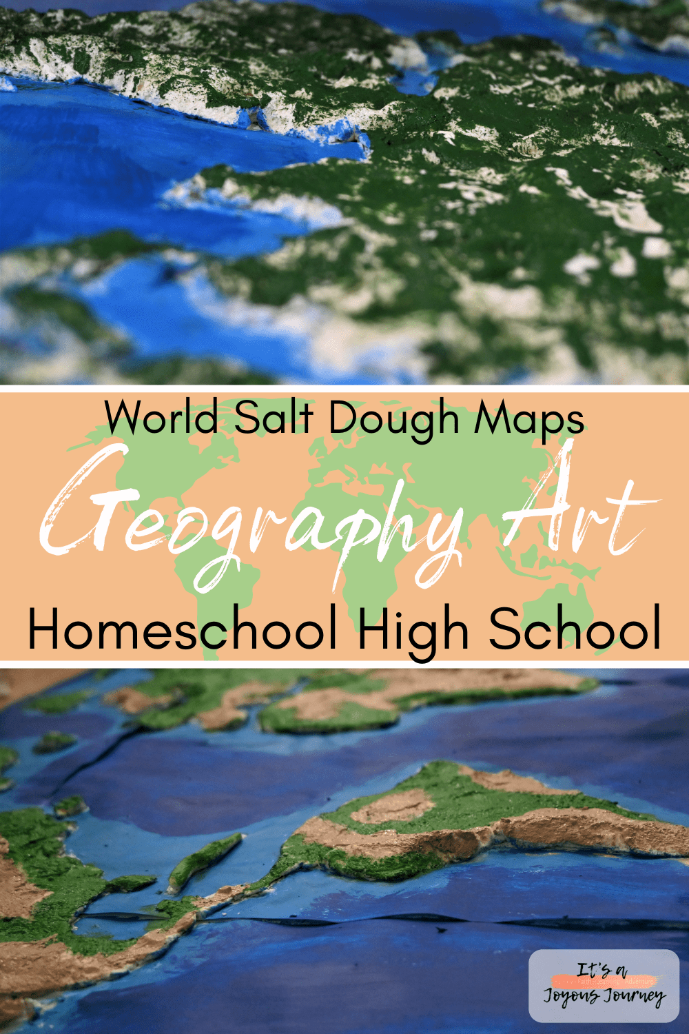 Geography_Art_World_Salt_Dough_Maps