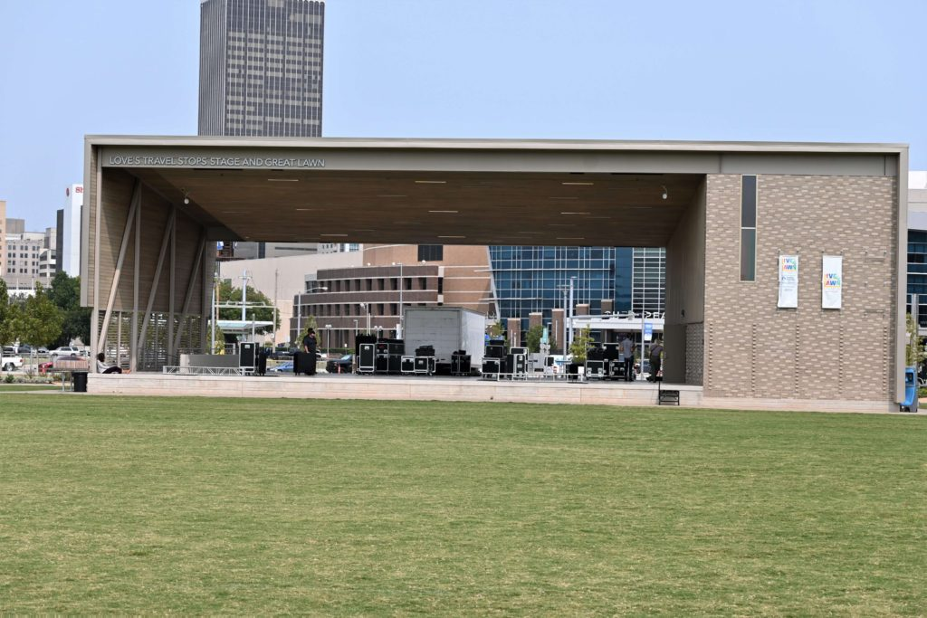 Loves Stage and Great Lawn
