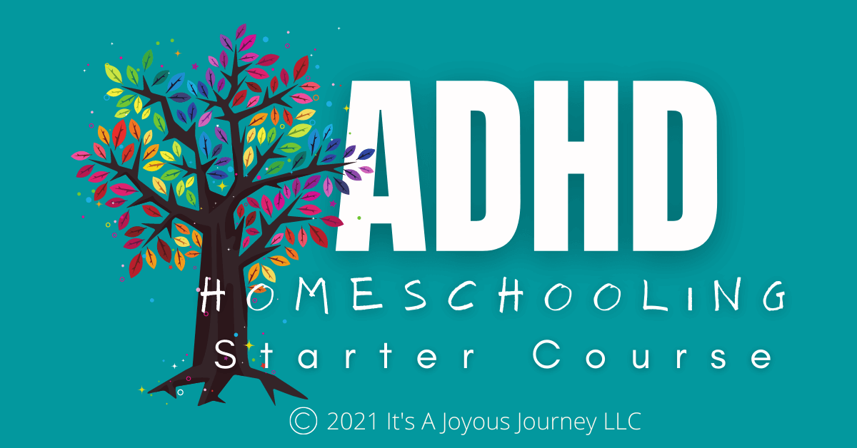 ADHD Homeschooling Starter Course Facebook Ad-Compressed